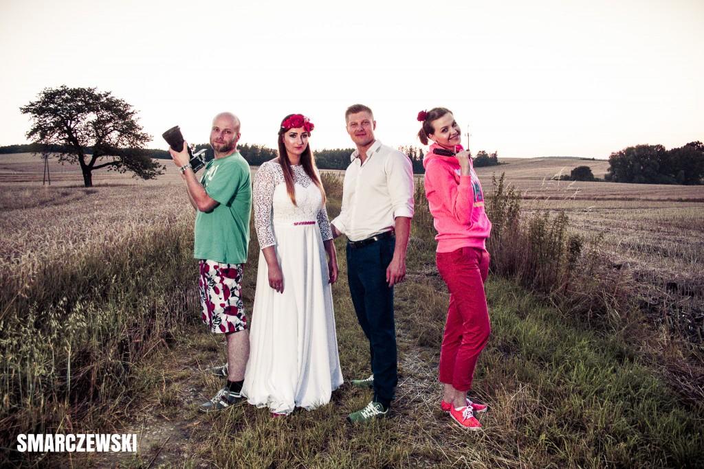Sesja ślubna - backstage - fotograf - Smarczewski