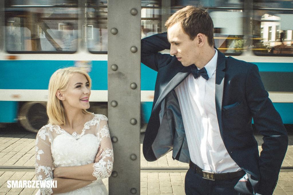 Ola i Dawid - fotografia ślubna - plener ślubny (fot Jan Jakub Smarczewski)