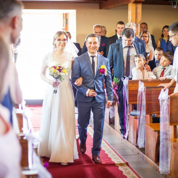 Zdjęcia reportażowe ze ślubu 1